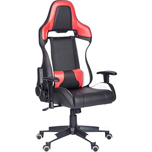 Merax Gaming Chair High Back Computer Chair Ergonomic Design Racing Chair (Orange&Black)