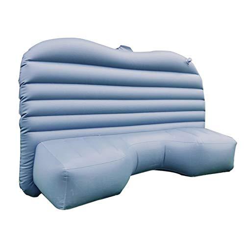 MCYAW Auto aufblasbare Sofa Luft-aufblasbare Reise-Matratze Universal für Rücksitz Multifunktions-Sofa-Kissen im Freien Camping-Matte (Color Name : Grey)