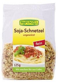 Rapunzel Bio Soja Schnetzel fein, 4er Pack (4 x 125g) - BIO