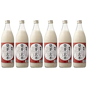 国菊 発芽玄米甘酒 985g 6本 1ケース