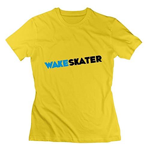 Wakeskate Wakeskater Wakeboard Wakeskating Womens Tshirts