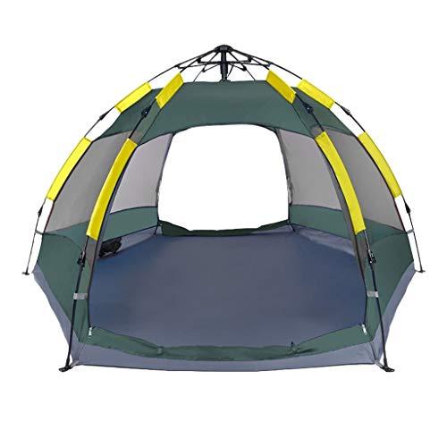 Utilisation multiple Tente Sports de plein air Protection contre le soleil pluie extérieure 210D Oxford Tissu imperméable et respirante vent automatique Vitesse Ouvert Camping Camping pliant Équipemen