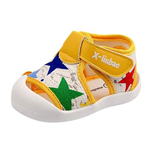 Kinder Hausschuhe Kleinkind Baby Mädchen Weiche Sohle Applique Sandalen Schuhe Einzelschuhe Baby Schuhe Jungen 0-3 Jahre Jungenschuh Outdoor-Pwtchenty