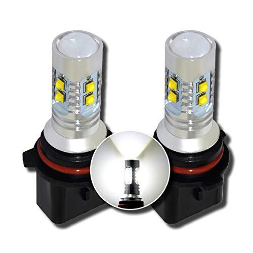MCK Auto HP24W Ampoules LED Canbus Blanc Feux de Jour DRL Feux Lat/éraux Tr/ès Lumineux et Sans Erreur PSA Transformez votre Ride