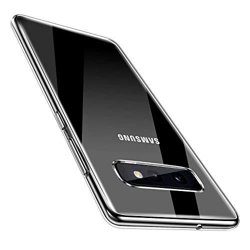 AVANA Hülle für Samsung Galaxy S10e Schutzhülle Slim Fit Hülle Schutz Durchsichtige Tasche Silikon TPU Dünne Handyhülle Klar Cover Kompatibel mit Samsung Galaxy S10e - Transparent