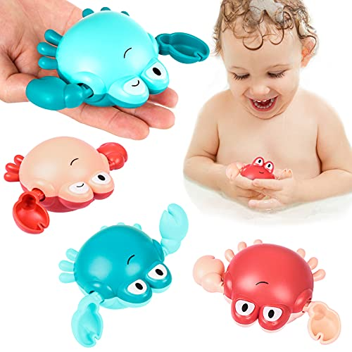 Bath Toys,Wind-up Swimming Crab Baby Bath Toys for...