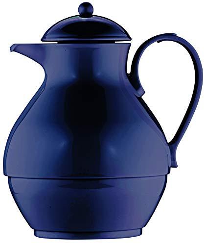 Helios Nostalgie Kunststoff-Isolierkanne, dunkelblau, 1 Liter