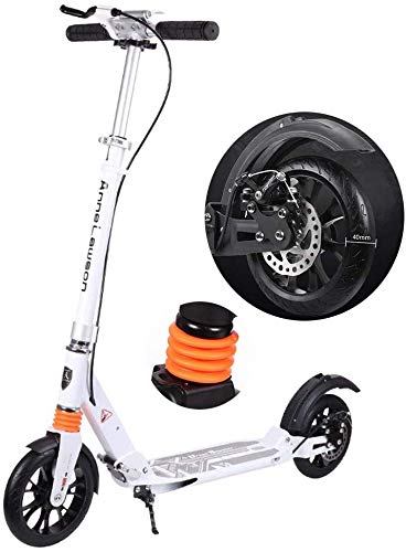 Scooter Scooter plegable Scooter ligero para adultos Scooter Kick Scooter con frenos...