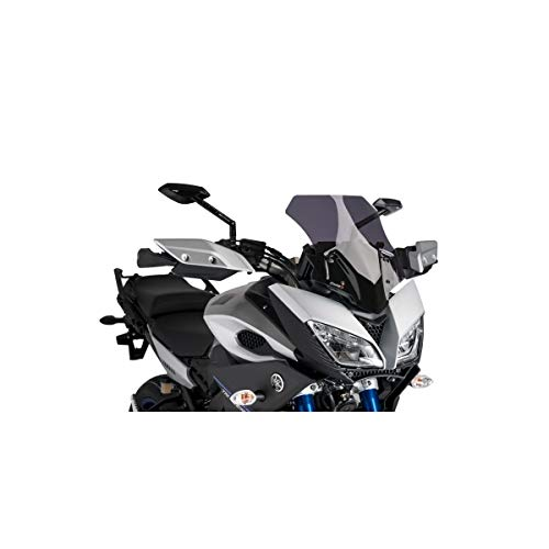 Puig 457 x 518 cm parabrezza da competizione 7645F colore: fumo scuro per Yamaha MT09/Tracer