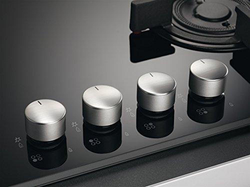 AEG - Piano cottura misto ad induzione e a gas HD 634170 NB finitura nero da 60cm