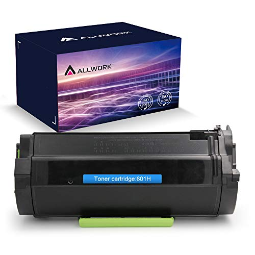 Allwork 601H 60F1H00 High Yield Remanufactured Toner Cartridge for Lexmark MX310,MX410 printer (10,000 Pages,1 Pack)