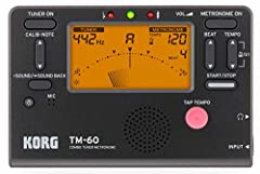 Tuner and metronome functions can be used simultaneously or independently Large backlit display for improved visibility; twice the battery life of the tm-50 A wide detection range of c1-c8 supports a broad range of instruments Metronome ranges from 3...