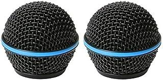 Bolymic Rejilla de micrófono para Beta58 Beta58A Vocal Micrófono Rejillas de Repuesto Negro