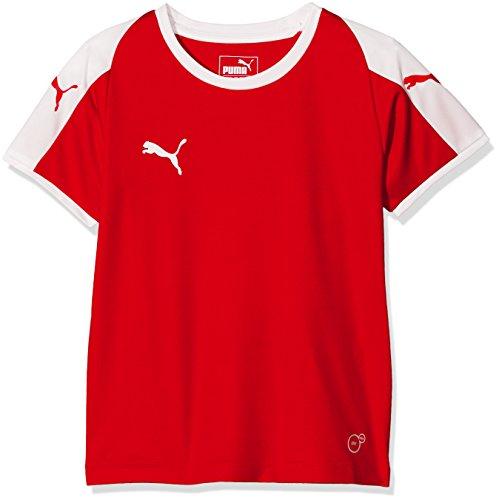 Puma Liga Jr T-Shirt Mixte Enfant, Red White, 128