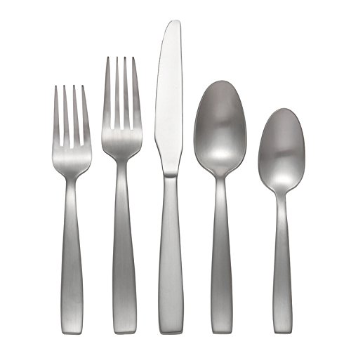 Oneida Everdine Flatware, Flatware Set, 45 Piece, Service for 8