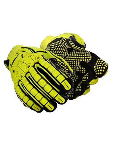 MAGID TRX648XXXL Primal Series | Cut Level A4 M-Force Defense TPR Impact Work Gloves, Size 12/XXXL, (1 Pair)