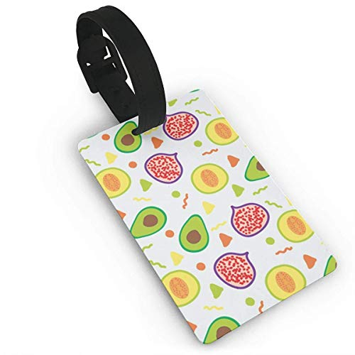 Pomegranate Kiwi Luggage Tag Travel Accessories Business Card Holder