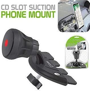 Cellet CD Slot Suction Smartphone Holder Compatible for Google 3 XL,3,2 XL,2CAT S48c,Razer Phone 2,ZTE Axon M,BlackBerry KEYone,Key2,Asus ZenFone V Live