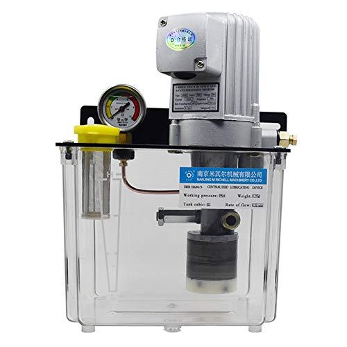 CGOLDENWALL Bomba de lubricación eléctrica 3L Bomba de aceite lubricante 90W Aceite...