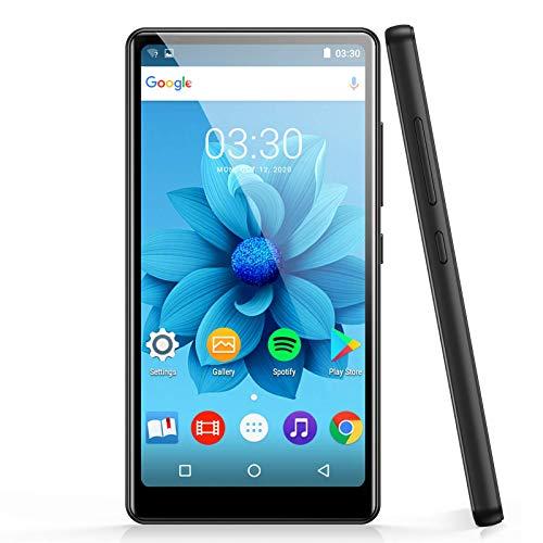 WiFi MP4 Player mit 4\'\' Touchscreen, AGPTEK HD Videoplayer mit Android 6,0 für UKW-Radio, Online-Funktionen usw, Bluetooth 4.0 Musik Player 1GB RAM, 8GB ROM, mit 32GB TF-Karte, 1000mAh Akku, Schwarz