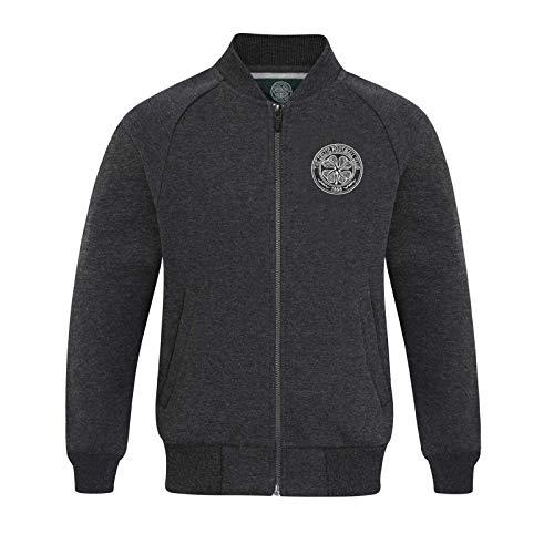 Celtic FC Official Gift Boys Retro Varsity Baseball Jacket 10-11 Years