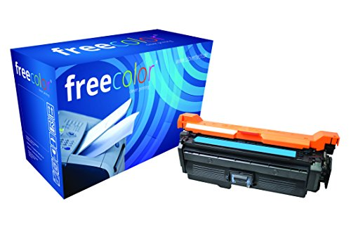 freecolor CE261A für HP Color LaserJet CP4025, Premium Tonerkartusche, wiederaufbereitet, 11.000 Seiten, 5 Prozent Deckung, CYAN