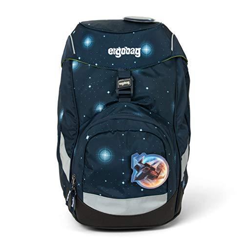 Ergobag Prime Zainetto Ergonomico per bambini, Scuola Elementare Tempo Libero, Multicolore Atmosbear Galaxy