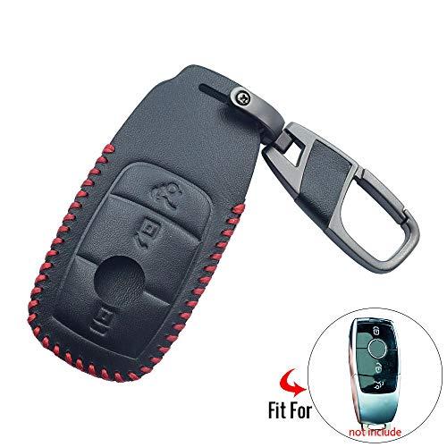 unknow , Für Auto Leder Auto Schlüsseletui Schlüsselbund, Für Mercedes-Benz 2019 ACE Klasse Smart Keyless Fernbedienung Abdeckung Auto Zubehör