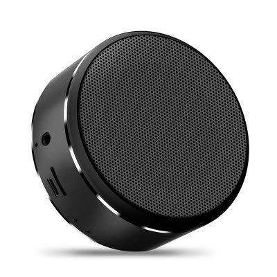Linshenyoulu Ultrasonido Altavoz Bluetooth Tarjeta portátil Mini-Subwoofer Regalo de Audio inalámbrico