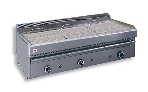 North Pro T30Gas Grill 27kW mit Wasser Schublade–LxBxH: 1130x 630x 430(Made in Griechenland)