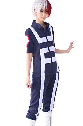 Anime Cosplay My Hero Academia Gymnastics Uniforms Costume (large)