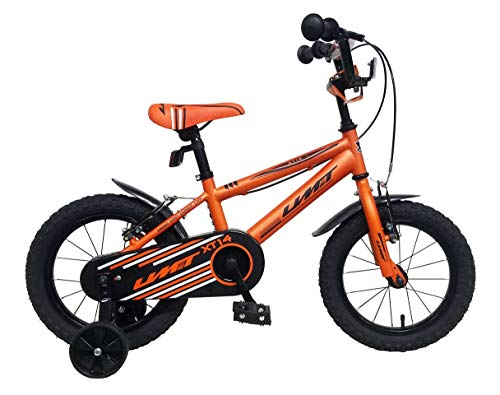 Umit 14' Xt14 Bicicleta Pulgadas niño, Unisex niños, Naranja