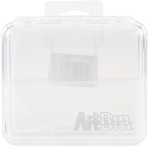 ArtBin Slim Line 2-Pack 6-Compartment, 2 Piece