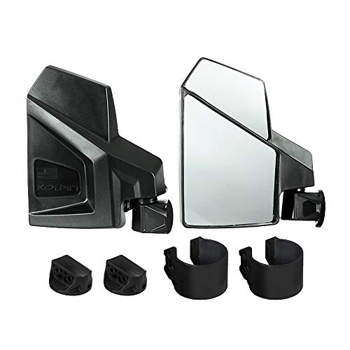 Kolpin UTV Side Mirror - Pair - 98315,Black