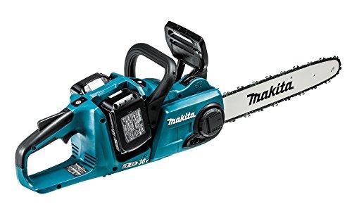 マキタ 充電式チェンソー ガイドバー350mm 青 18V+18V 6Ahバッテリ2本・充電器付 MUC353DPG2