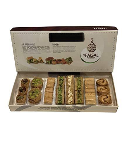 Caja de regalo de lujo Baklava Sweet, Bitesize, 35 piezas, Turkish Baklawa Sampler Pistachio Surtido echa en las mejores fabricas