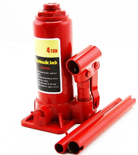 4 Ton Hydraulic Bottle Jack 8000lb Lift Heavy Duty Automotive