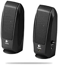 Logitech S120 Wired 3.5mm/2.3 Watts/2.0 Channel Speaker System (Black)