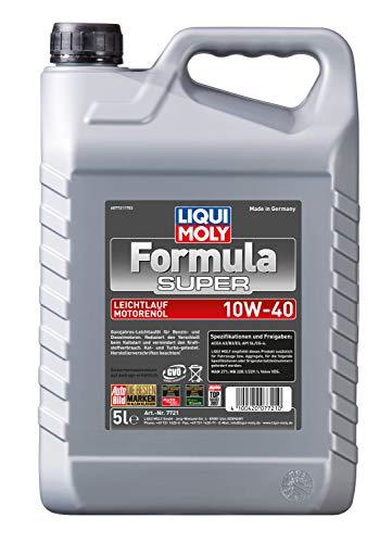 LIQUI MOLY 7721 Motoröl Formula Super 10W-40, 5 Liter