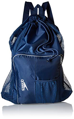 Speedo Deluxe Ventilator Mesh Equipment Bag, Insignia Blue, 1SZ