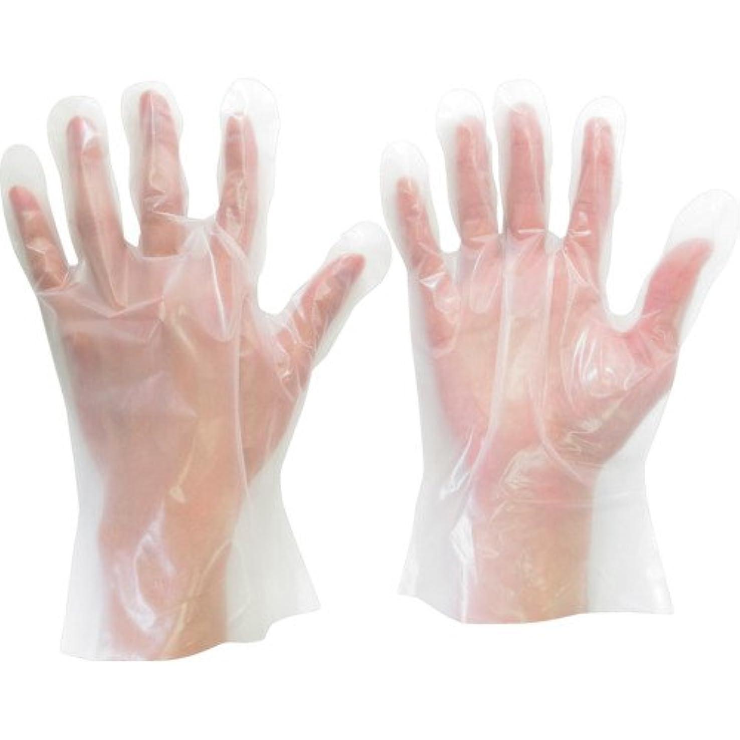 子孫不道徳わずかにミドリ安全 ポリエチレン使い捨て手袋 外エンボス 200枚入 L VERTE575L