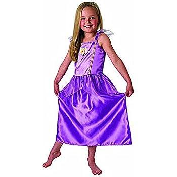 Princesas Disney - Disfraz de Rapunzel lila para niña, infantil 3 ...