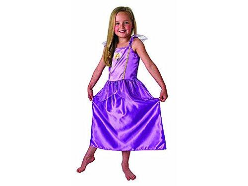Rubie's- Raperonzolo Rubie Cost. Rapunzel Promo Party E Carnevale Costumi da Bambino, Multicolore, L, 0883028651276