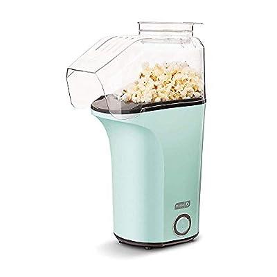 DASH DAPP150V2AQ04 Hot Air Popper Popcorn Maker, 16 cups, Aqua