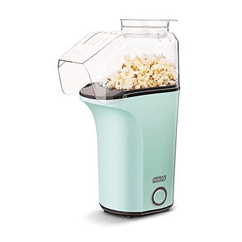 DASH DAPP150V2AQ04 Hot Air Popcorn Popper Maker with Measuring Cup