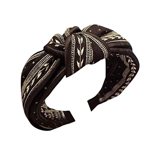 Serre-tête style bandana pour femme