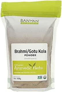 Banyan Botanicals Brahmi/Gotu Kola Powder, 1 Pound - USDA Organic - Centella asiatica - Ayurvedic Herb for The Brain & Nervous System