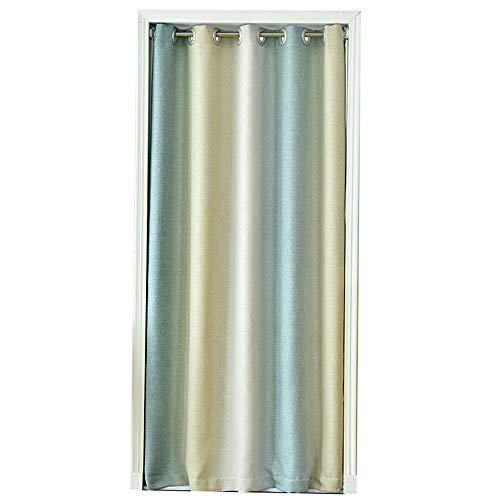 ZYQDRZ Japanische Tür Vorhangstoff Home Schlafzimmer Klimaanlage Trennvorhang Küche Gesundheit curtainPunch-Free Türvorhang,A,150CMX180CM