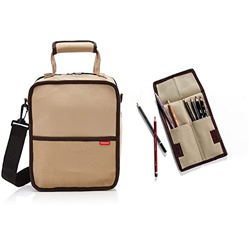 Derwent Bolsa para material de dibujo + 2300219 Estuche Pocket