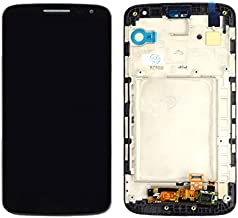 Mobile Phone LCD Screen LCD Display + Touch Panel with Frame for LG G2 Mini / D620 / D618(Black) LCD Screen (Color : Black)